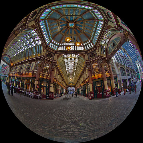Leadenhall Market by Kev Bell