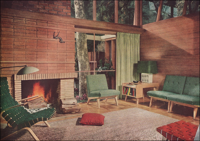1950s living rooms a gallery on flickr for Living room antique and modern
