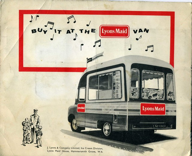 Lyons Maid Ice Cream TRAIN SPOTTERS Card ALBUM (back) 1961