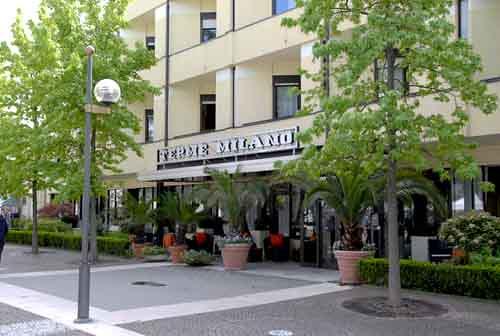 Relax e benessere all hotel milano di abano padova dove for Hotel milano padova