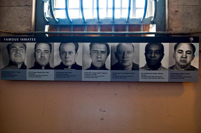 Famous Inmates at Alcatraz