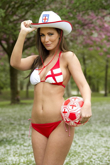 Amii Grove's World Cup Promotion Shoot for Poundland
