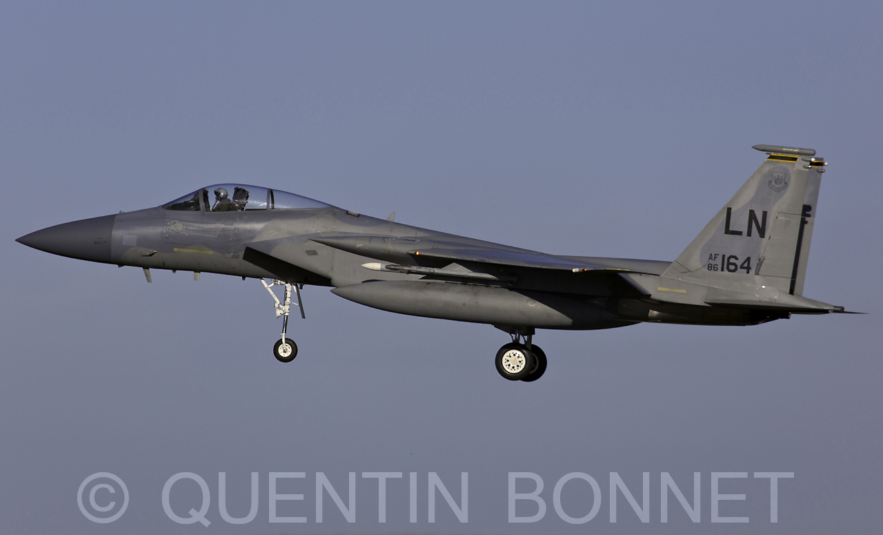USAF McDonnell Douglas F-15C Eagle LN 86-164
