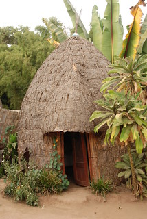 Beehive house of the Dorze people, Ethiopia