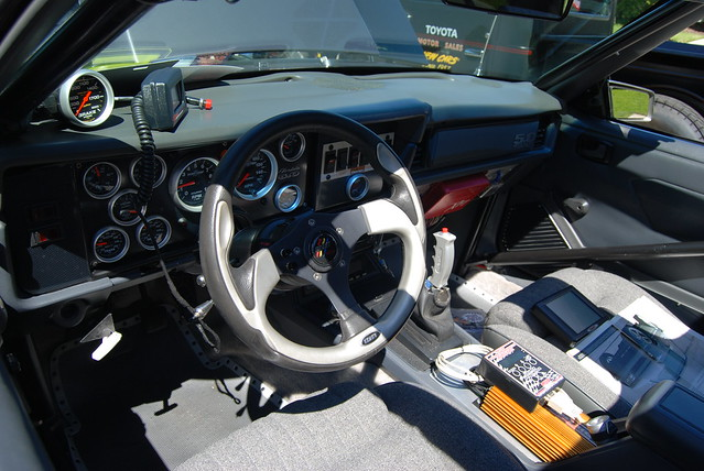 Ford Mustang T Top Foxbody Coupe Interior Flickr Photo Sharing