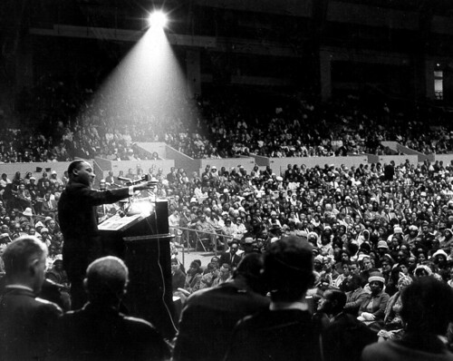 Image of Martin Luther King, Jr. San Francisco June 30 1964