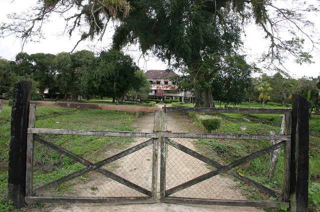 Old and abandoned plantation house at the former for Abandoned plantations in the south for sale
