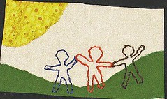 All the Children textile art