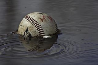 Abandoned baseball