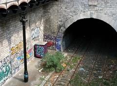 Petite Ceinture (Avenue de Saint-Ouen) : Le Tunnel (1889)