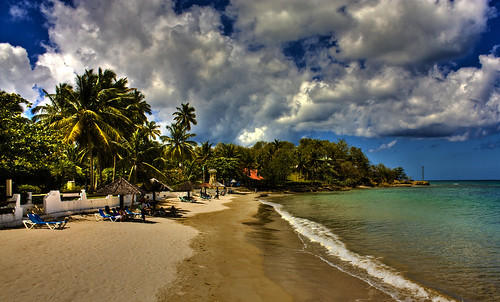 St Lucia Halcyon Beach HDR