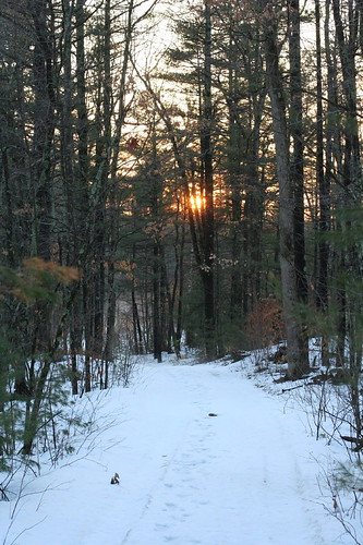 sunset path newhampshire amherst 50mmf14