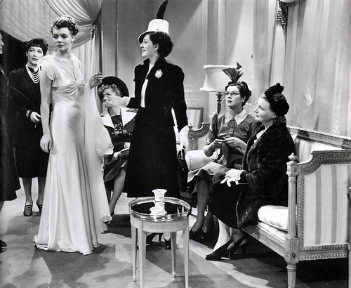 "Norma Shearer and Rosalind Russell in ""The Women"", 1939"