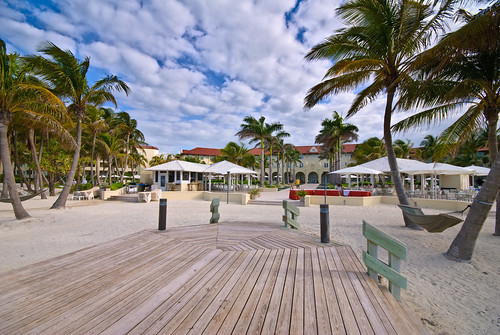 A view of the Casa Marina Resort in Key West, Florida