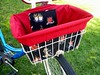 Bike Basket Liner - Sailor Jerry - Red Do you love