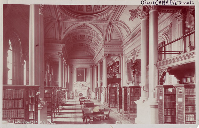 Law library, Osgoode Hall