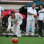 Located in downtown Minneapolis, Brit's Pub has an authentic pub interior and lawn bowling out back.