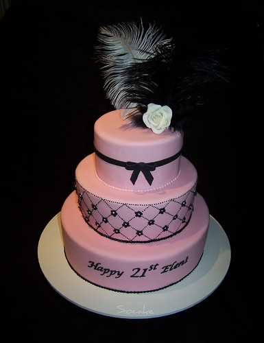Perfect 21st birthday cake designs food and drink for 21st birthday cake decoration ideas