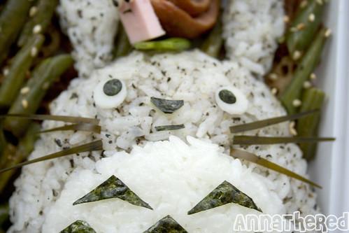 bento #52: Rainy day Totoro