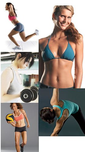 Womans Fitness Models