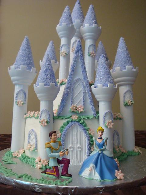 Cinderellas Castle Cake  Flickr - Photo Sharing!