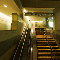 subway, interior design, escalator, metro station,