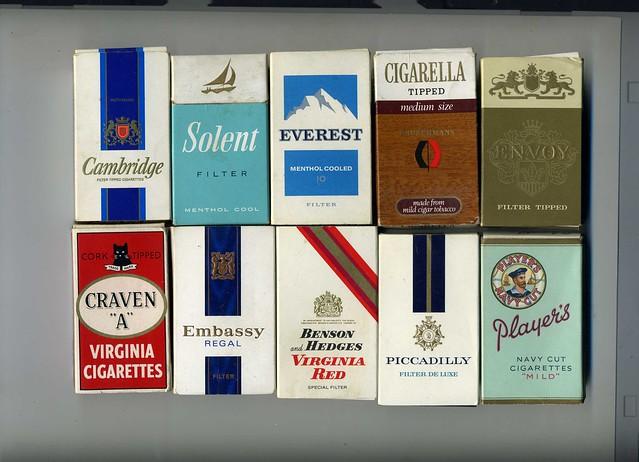 Cigarettes Dunhill noir
