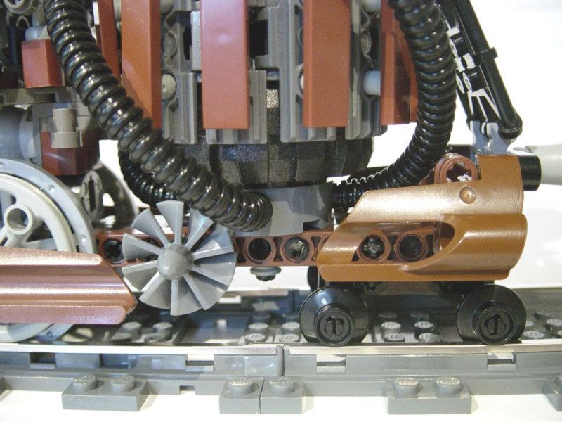 Lego Steampunk Train Lego Moc Steampunk Train