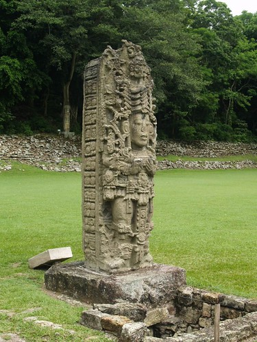 Adalberto.H.Vega's photo of a carving at Copán.