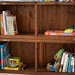 kids' bookshelves
