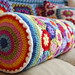 Rainbow Flower Bolster
