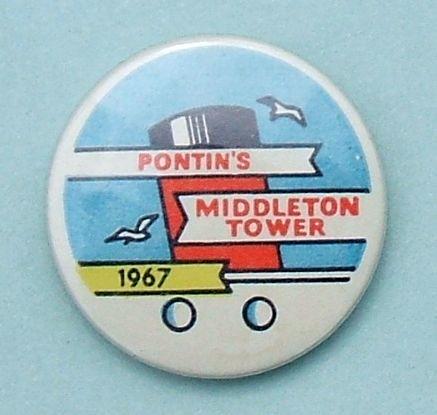 1967 Pontin S Middleton Tower Camper S Badge Flickr Photo Sharing