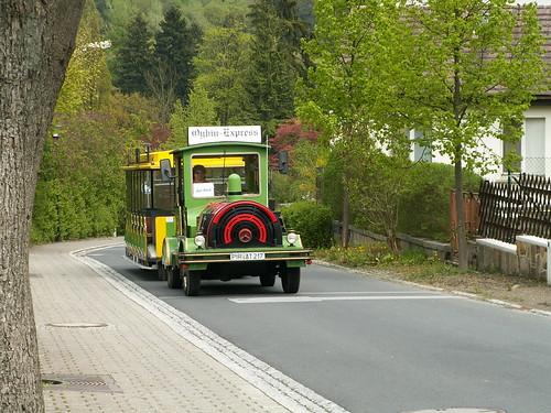Oybin-Express im Zittauer Gebirge