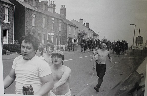 Miners Strike March 30yrs on Rotherham Silverwood Pit (21)