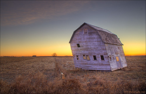old brown farmhouse sunrise colorado longmont urbandecay rustic backlit tilt hdr offbalance 3xp photomatix winterphotography highway287 aplusphoto tuneinforwhenandifitfalls