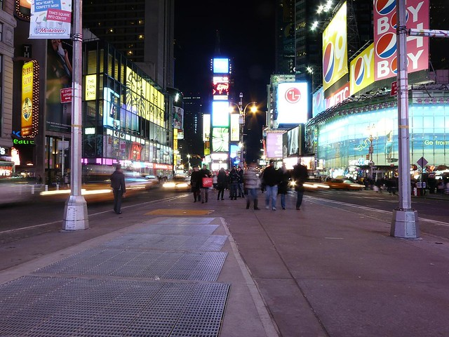 times square street view at night flickr photo sharing