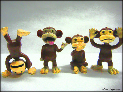 Four Little Monkeys....