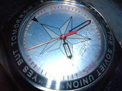 watch, compass,
