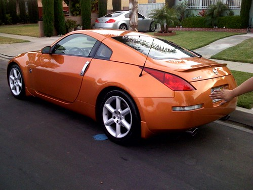 ca 2003 nissan 350z le mans sunset orange touring coupe model 6 speed manual forums. Black Bedroom Furniture Sets. Home Design Ideas