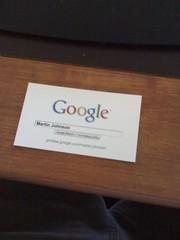 My Google Profile card