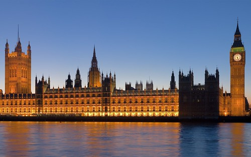 Palace of Westminster - London, England by Trodel