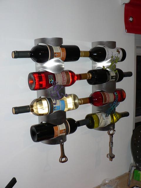 Ikea 39 vurm 39 wine racks flickr photo sharing for Ikea wine shelf