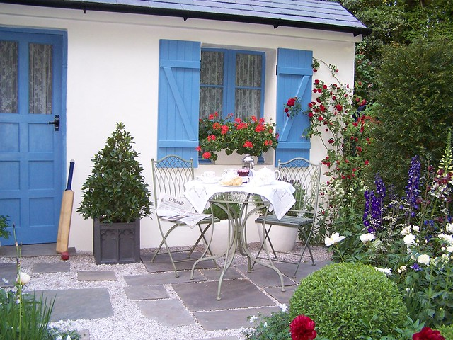 French cottage garden flickr photo sharing - French style gardens ...