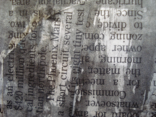 News Paper Textures 8