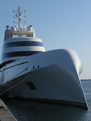 """Motor Yacht A"", Copenhagen harbour"