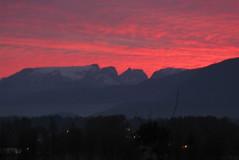 Comox Glacier Sunset