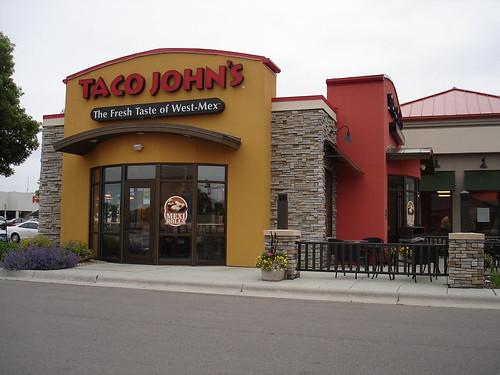 taco john's... not bad.