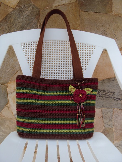 Bolsa De Festa Em Croche Passo A Passo : Bolsa de croch? crochet bags a gallery on flickr