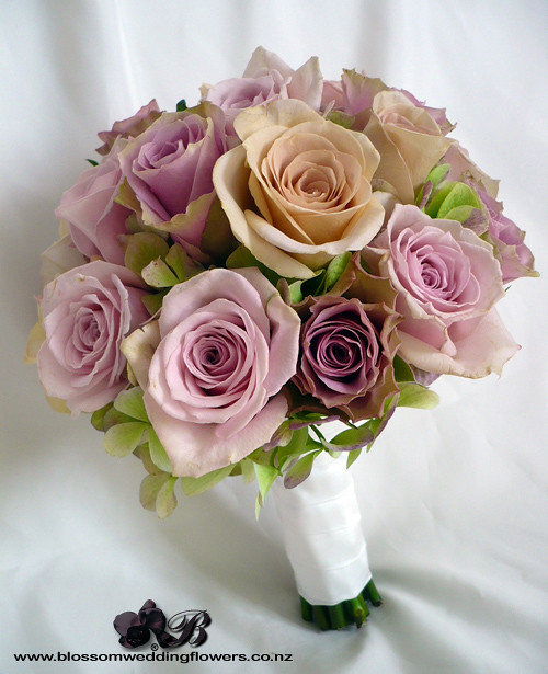 Dusky Pink Rose Bouquet