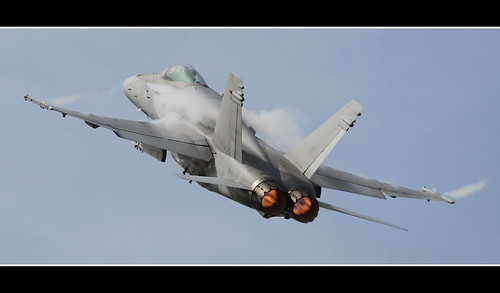 Hornet display at Tampere